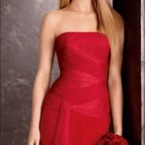 Red Vera Wang Gown